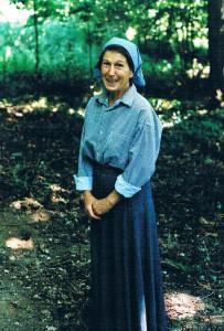 В Леснеском монастыре 1998
